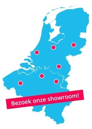 Bubbelkoning showrooms